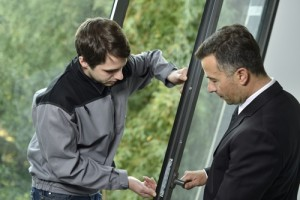 How can you improve the security of your windows?