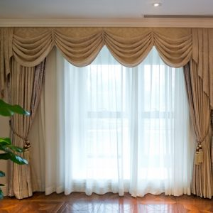 With a little work and the right curtains, you can transform your windows.