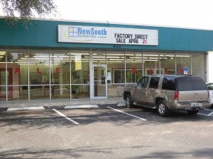 Outside of the Factory Showroom in Altamonte