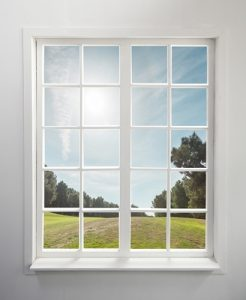 Window glass can vary in terms of its glazing content.
